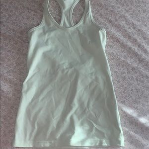 this is a KIDS size 12 teal Ivviva tank